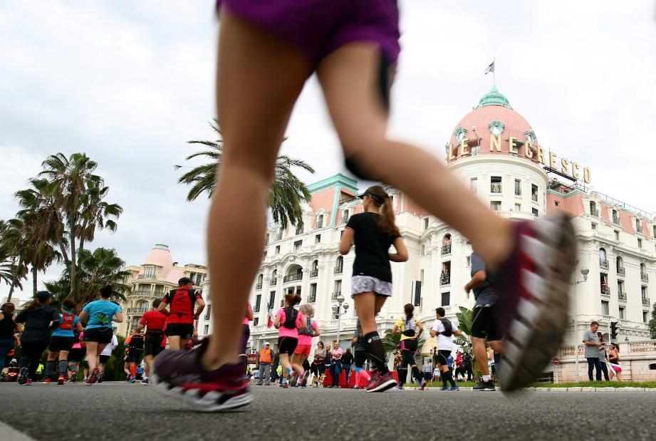Le marathon Nice-Cannes aura lieu dimanche 3 novembre.