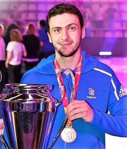 Clément Damiani a remporté les Mondiaux U21 en Espagne.