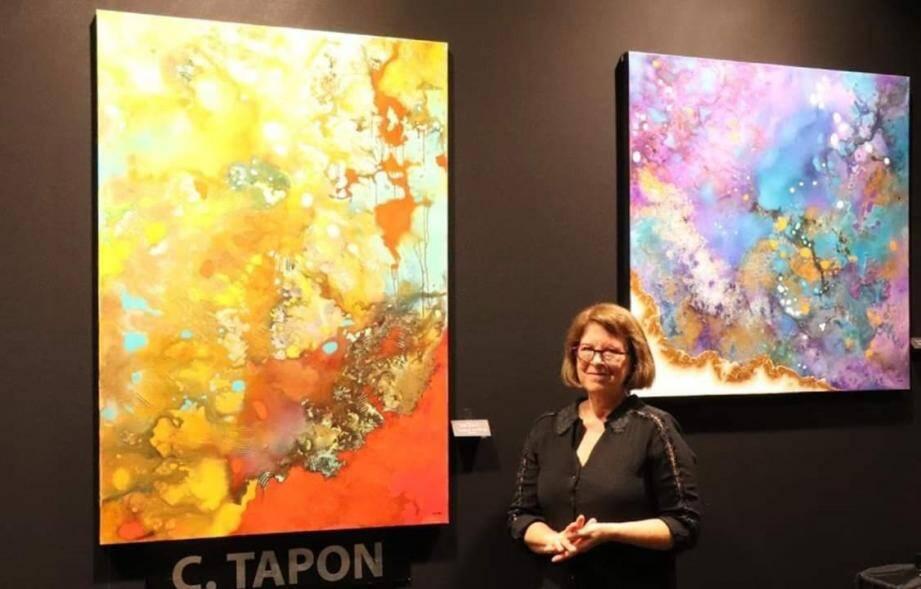Catherine Tapon exposera du 28 août au 3 septembre chez « La Dame du Castellet ».