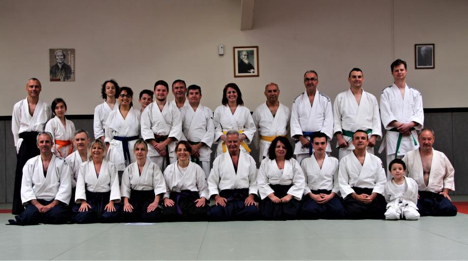 Toutes les catégories d'âge sont concernées par la pratique de cet art martial.