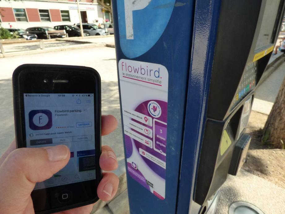 L'application est opérationnelle depuis le mois de juin. Objectif de la mairie : augmenter la rotation du stationnement en centre-ville