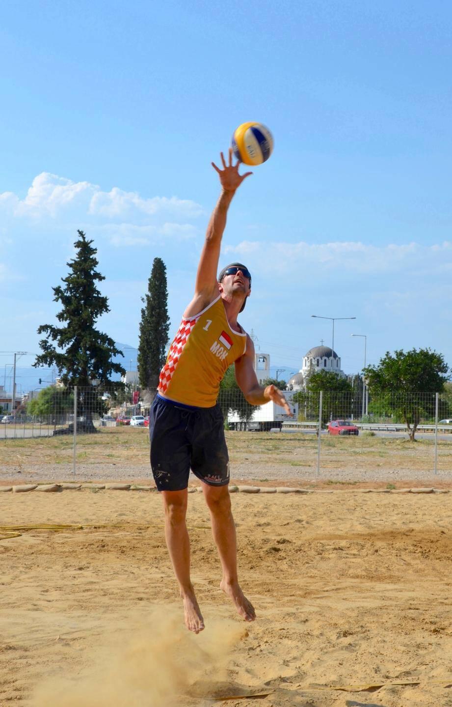 Pour Michael Chamy (entraîneur du beach-volley), ce tournoi de haut-niveau sera plus que bénéfique.