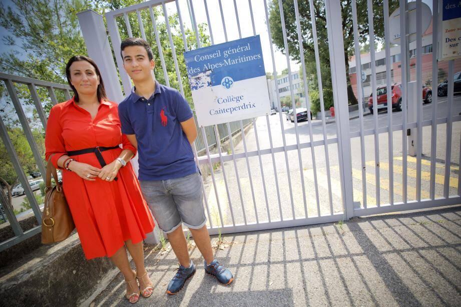 Après avoir quitté La Crau pour Grasse, Katia, la maman de Khalis, a dû effectuer des trajets quotidiens entre les Alpes-Maritimes et le Var avant de déscolariser son fils.  (Ph. C. Tiberghien)