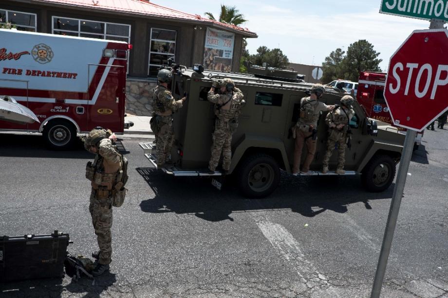 Plusieurs morts dans une fusillade à El Paso le 3 août 2019.