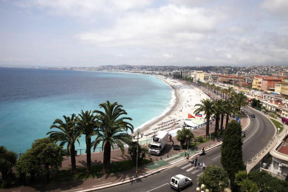 Illustration de la Promenade des Anglais.