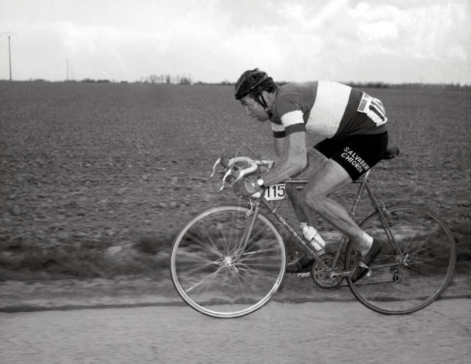 Felice Gimondi lors du Paris-Roubaix 1969.