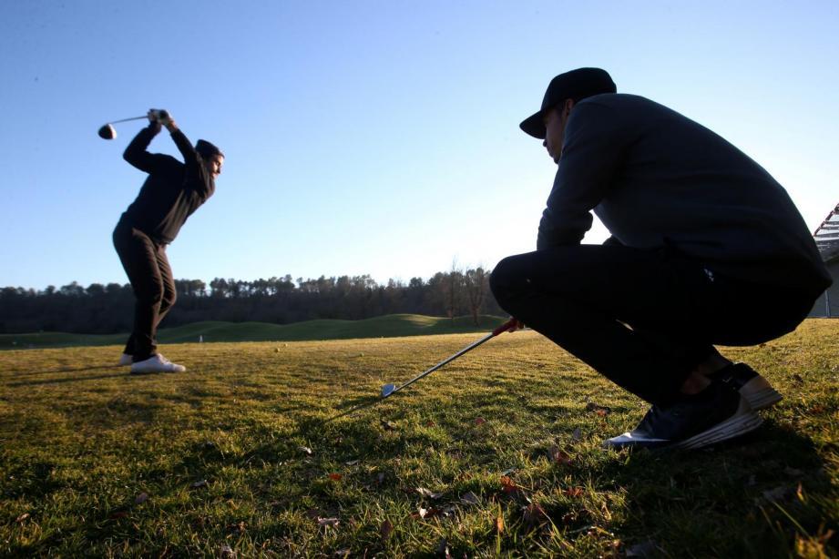 Illustration du golf de Terre-Blanche.