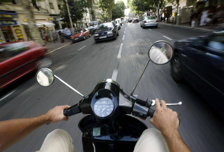 Illustration d'un scooter