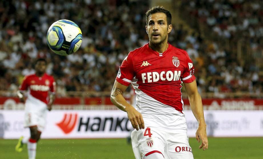 Fabregas a été expulsé à la 28e minute.