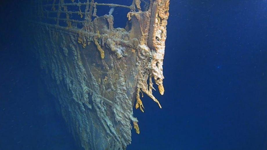 L'épave du Titanic.