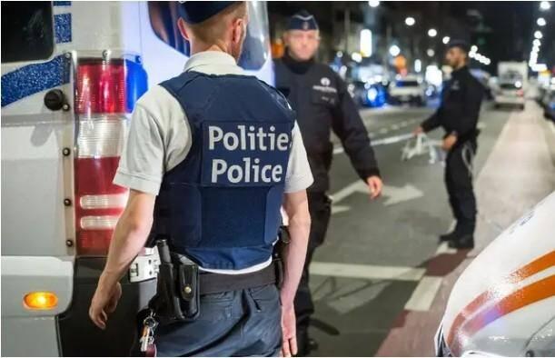 Illustration police belge.