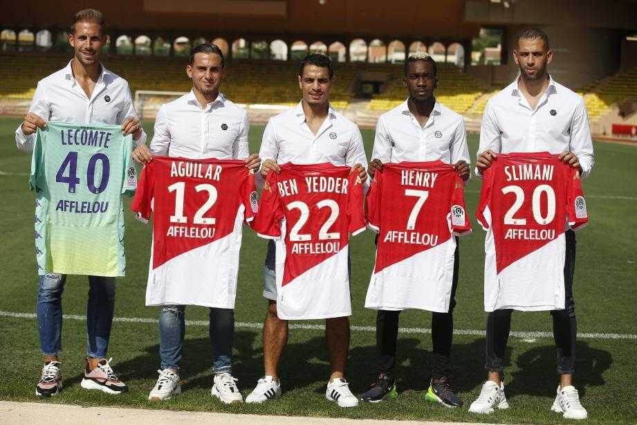 Les recrues de l'AS Monaco ont été présentées.