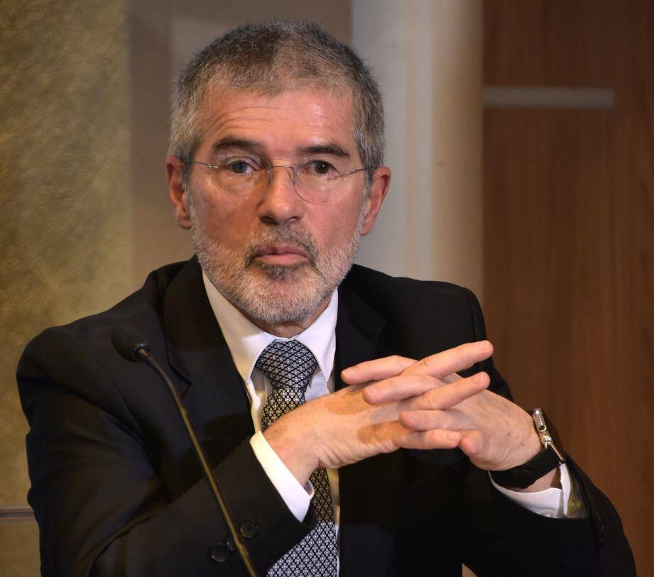 Patrice Cellario, conseiller de gouvernement-ministre de l'Intérieur