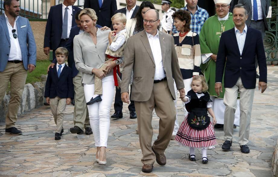 La famille princière fera sa rentrée publique comme chaque fin d'été.