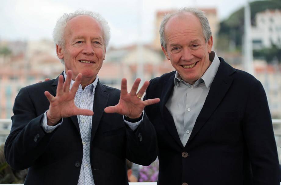 Luc Dardenne (à droite), et son frère Jean-Pierre, lors de la dernière édition du Festival de Cannes.