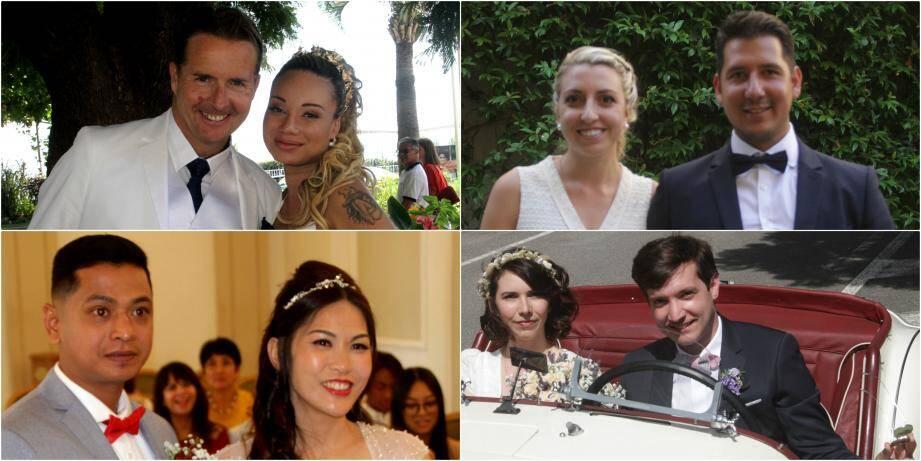 Une partie des mariés du week-end à Cannes et Mougins.