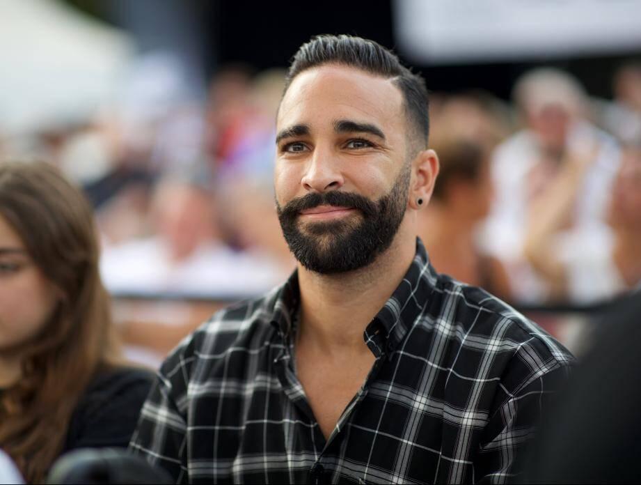 Adil Rami cet été à un gala de boxe.