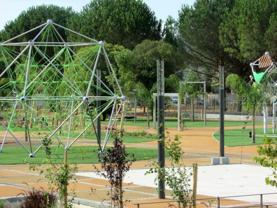 L'extension du parc du Béal sera bientôt livrée.