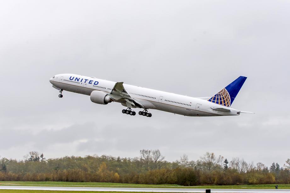 Un Boeing de la compagnie United Airlines.