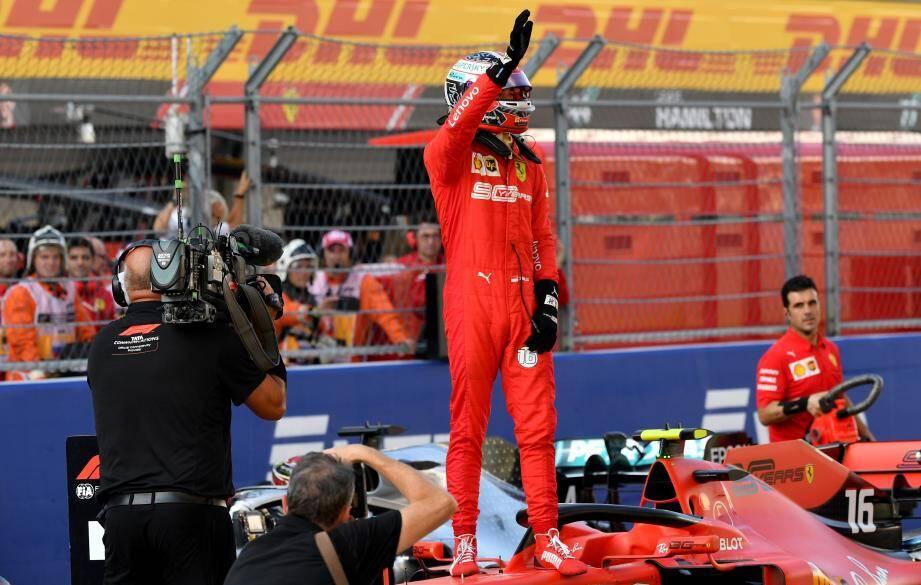 Une pole position supplémentaire pour Charles Leclerc en Russie