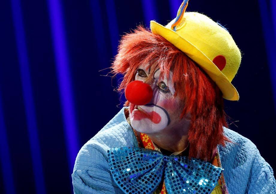 Un clown toujours aussi généreux.