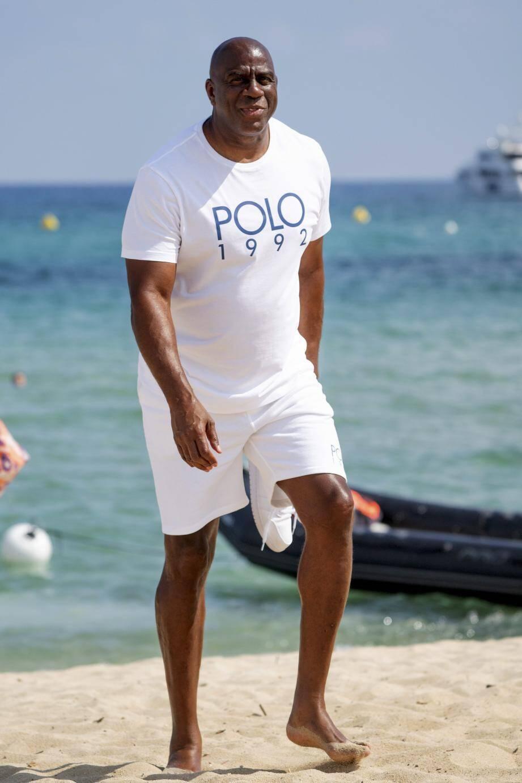 Magic Johnson a fait les choses en très grand pour accueillir ses amis dans le Golfe de Saint-Tropez.