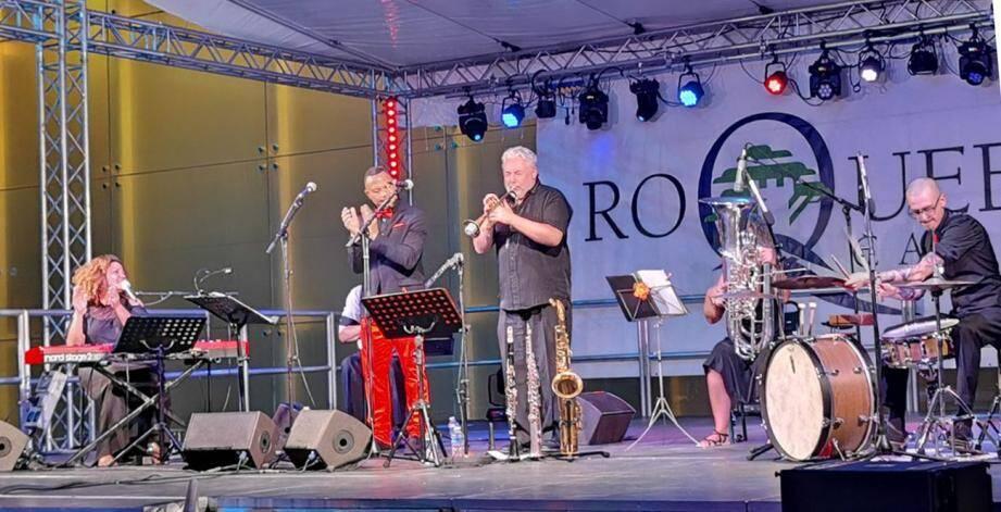 Spiritual Jazz Orchestra a enchanté le public ! (DR)