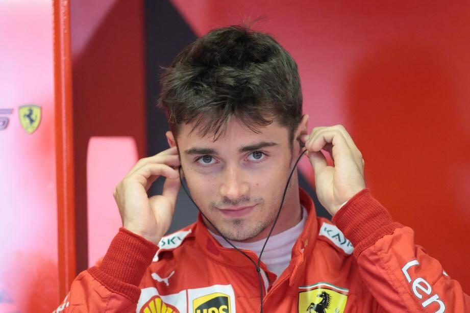 Devant des dizaines de milliers de tifosi Ferrari rêvant d'un triomphe à domicile de leur nouveau héros, Charles Leclerc a redémarré plein gaz, hier.