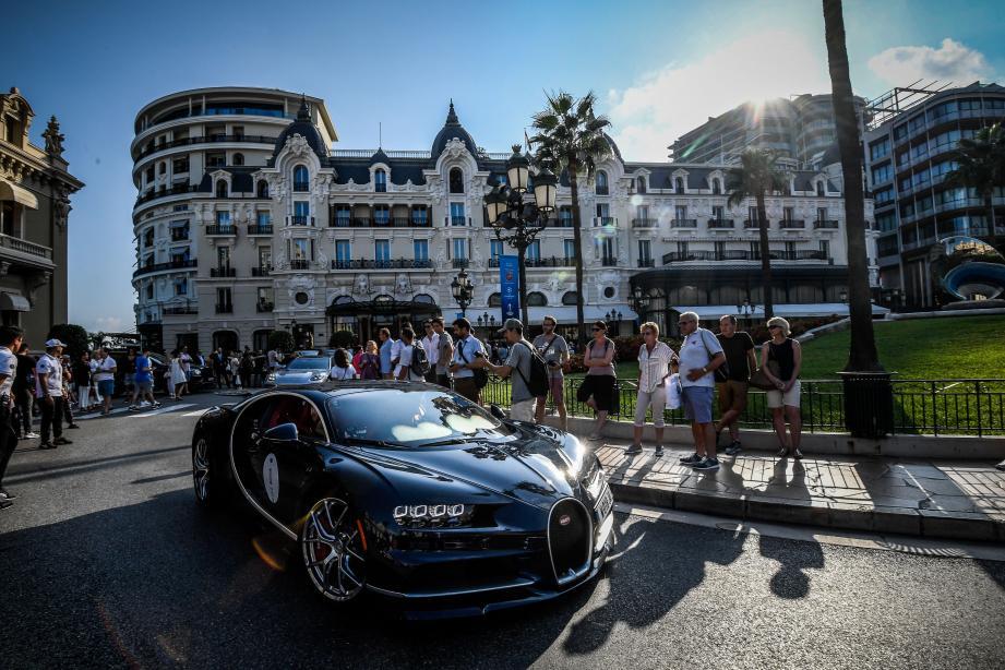 Rarement, peut-être jamais, on a réuni vingt-deux Bugatti récentes au même endroit!