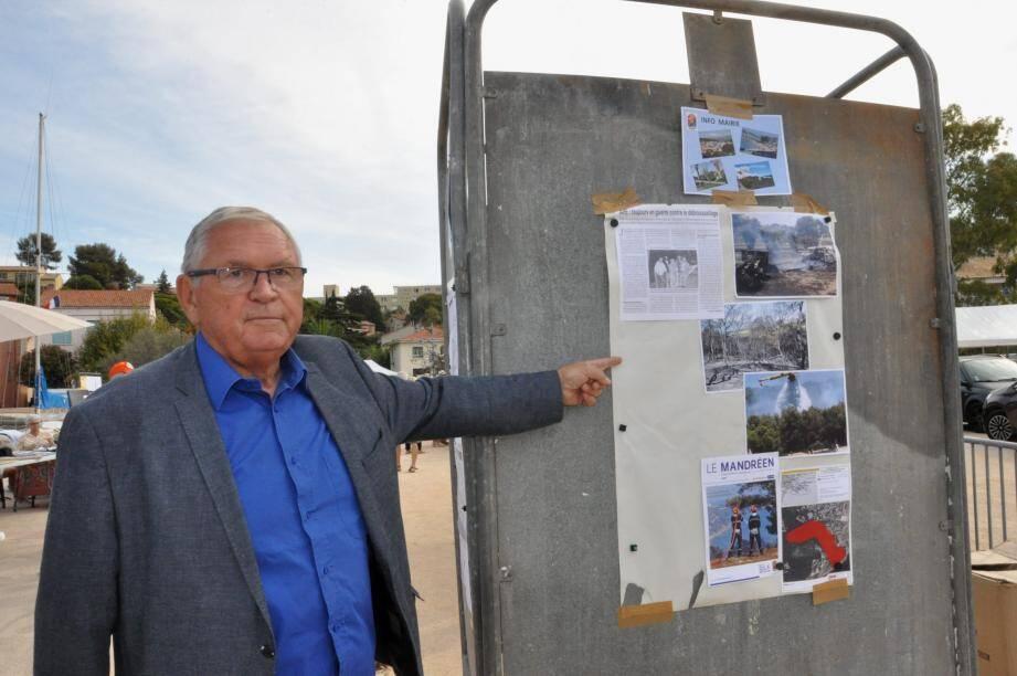 Gilles Vincent, le maire de Saint-Mandrier, ne décolère pas, après l'altercation qui s'est déroulée ce samedi avec le président de l'APE.