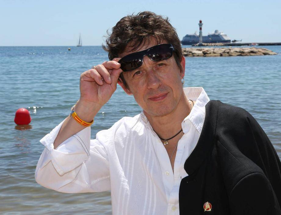 Eric Serra, lors d'un passage au Festival de Cannes en 2013. Une autre façon de plonger en apnée!