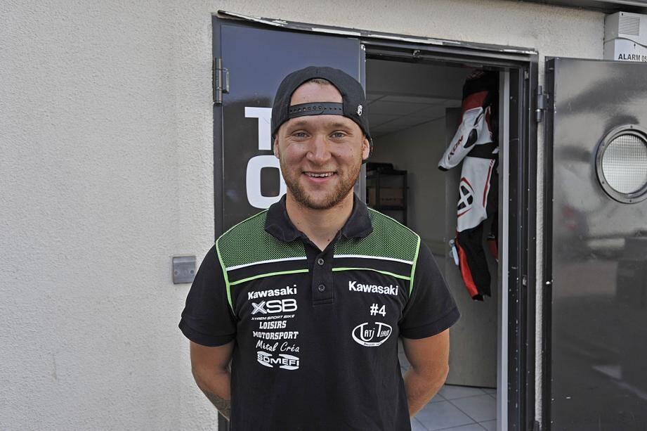 Au Castellet, Alan Techer a vite pris en main la Kawasaki ZX-10R du Tati Team Beaujolais Racing. Reste à transformer l'essai...