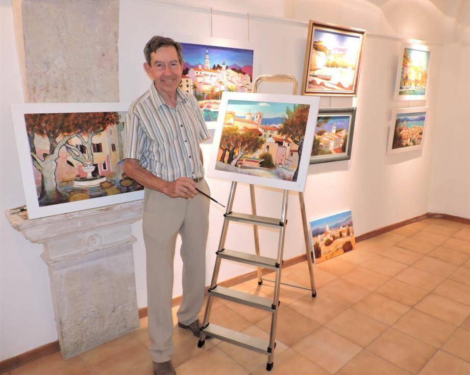 Alain Reboux peint la Provence.