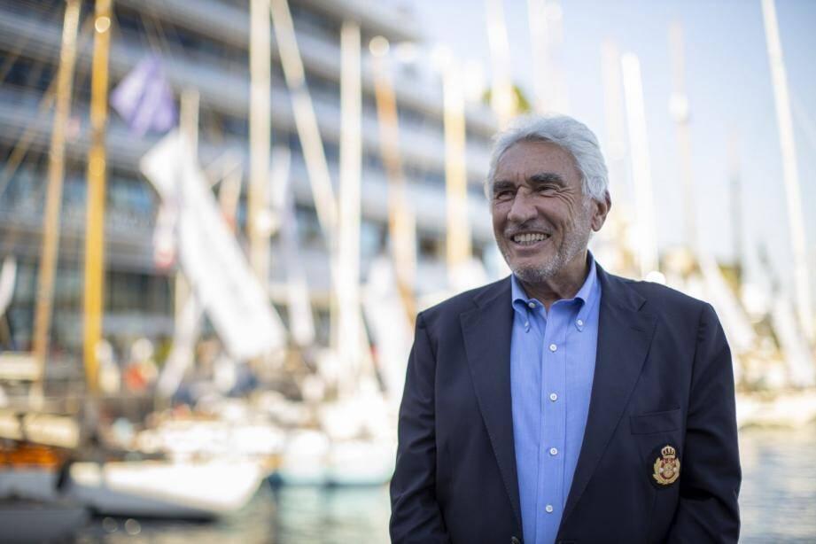 Bernard d'Alessandri, secrétaire général du Yacht-club de Monaco, a lancé hier soir la 14e édition de la Monaco Classic Week - Belle Classe.