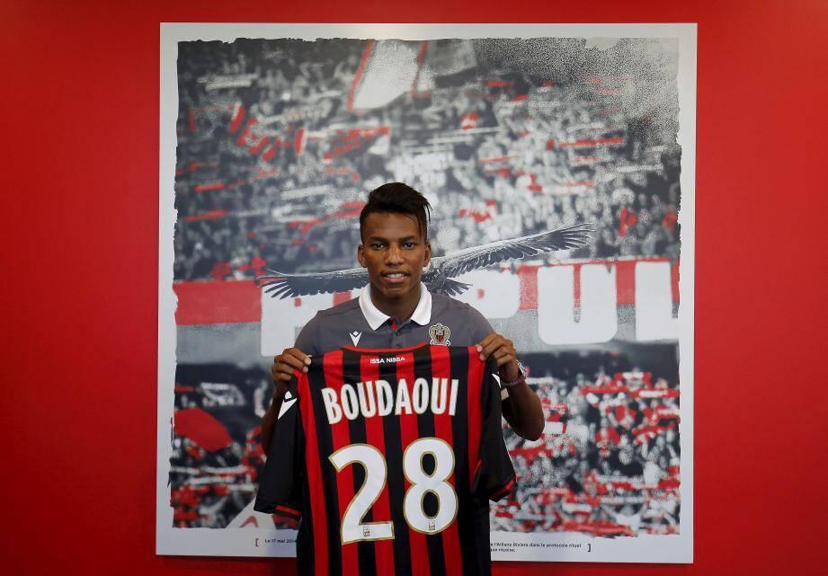 Hicham Boudaoui, 19 ans, pourrait faire partie du groupe qui se déplacera, demain à Montpellier.
