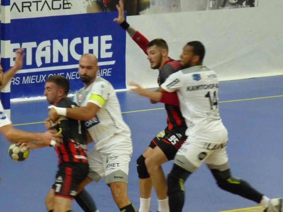 Cesson-Rennes a dominé physiquement.