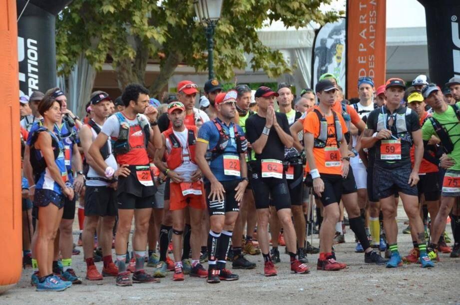 Pour sa 12e édition, le Trail des Alpes-Maritimes attend jusqu'à 500 participants ce week-end.(DR)