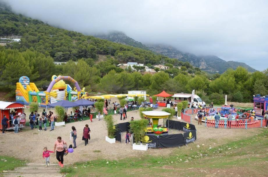 Parc de jeux géant et de multitudes activités pour tous les âges font le bonheur de toute la famille. (Archive photo S.I.)