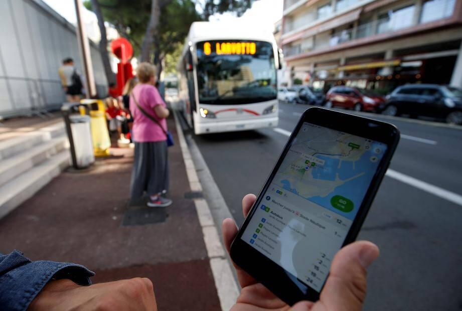 L'application permet aussi de connaître l'horaire de passage des bus.