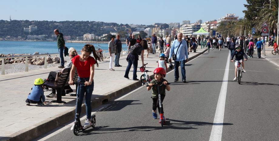 La promenade du Soleil sera réservée aux piétons le 4e dimanche du mois.(DR)