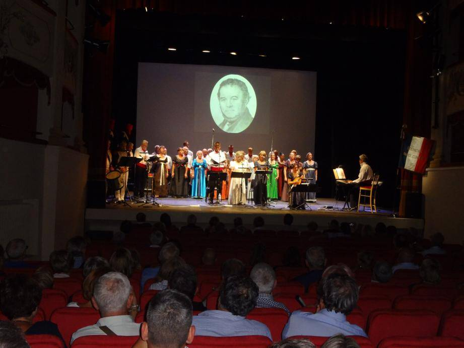 Des récits, des chants, des projections vidéo pour un Souvenir napoléonien bien vivant.(DR)