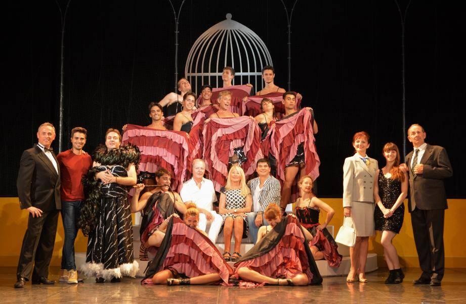 À l'opéra, le spectacle sera joué pour la première fois avec un orchestre symphonique, en l'occurrence l'orchestre philharmonique de Nice.(DR)