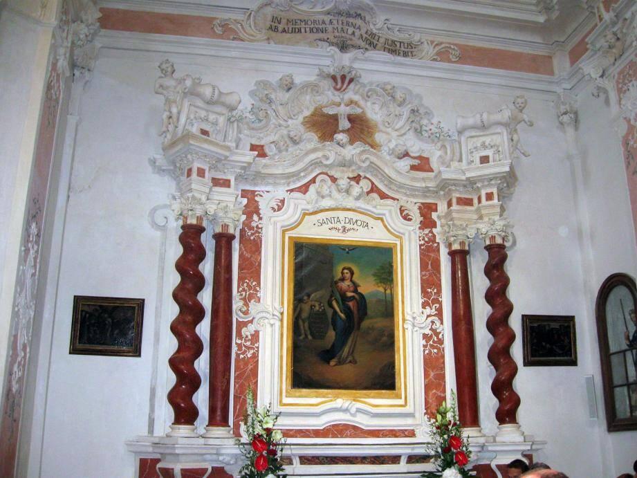 Dans l'église Saint-Michel de Lucciana.(DR)