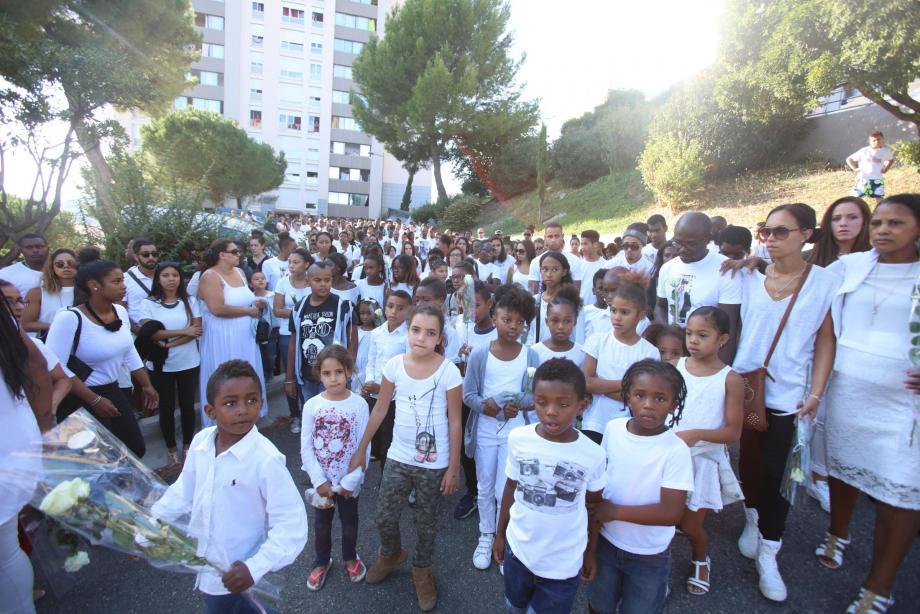 A l'époque du drame, une marche blanche était partie des hauts de Vallauris en hommage à la victime.