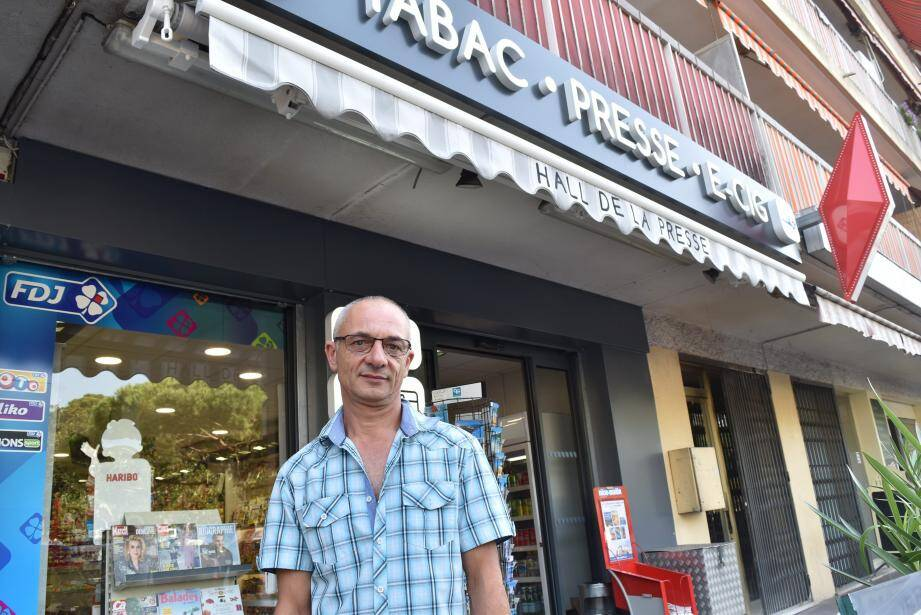 Pascal Albert est gérant du Hall de la Presse depuis près de 26 ans.