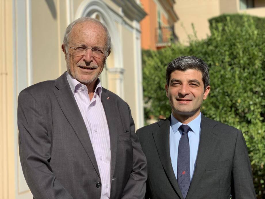 Bernard Fautrier passera les clés de la Fondation Prince Albert II à Olivier Wenden le 1er octobre 2019.
