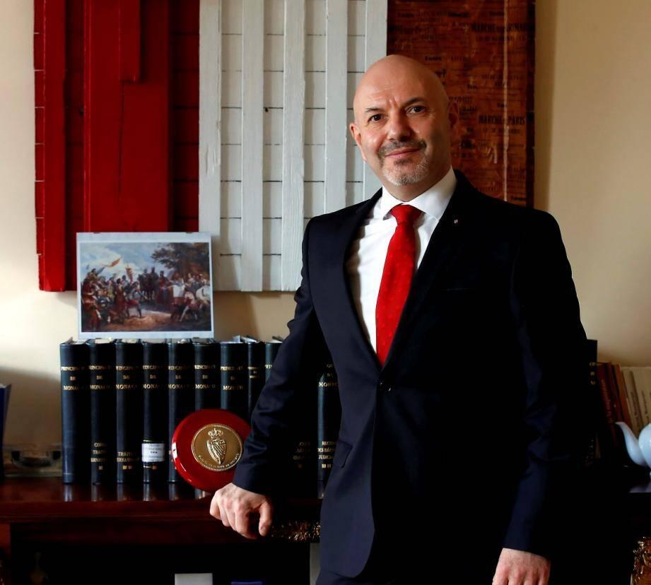 Laurent Anselmi a été nommé directeur des Services judiciaires le 14 septembre 2017. Il quittera son poste le 21 octobre prochain (en médaillon, Robert Gelli, son successeur).