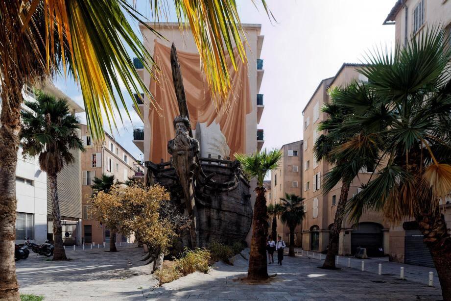 La place Vatel, située face à l'entrée du lycée Anne-Sophie Pic, va retrouver ses lettres de noblesse.