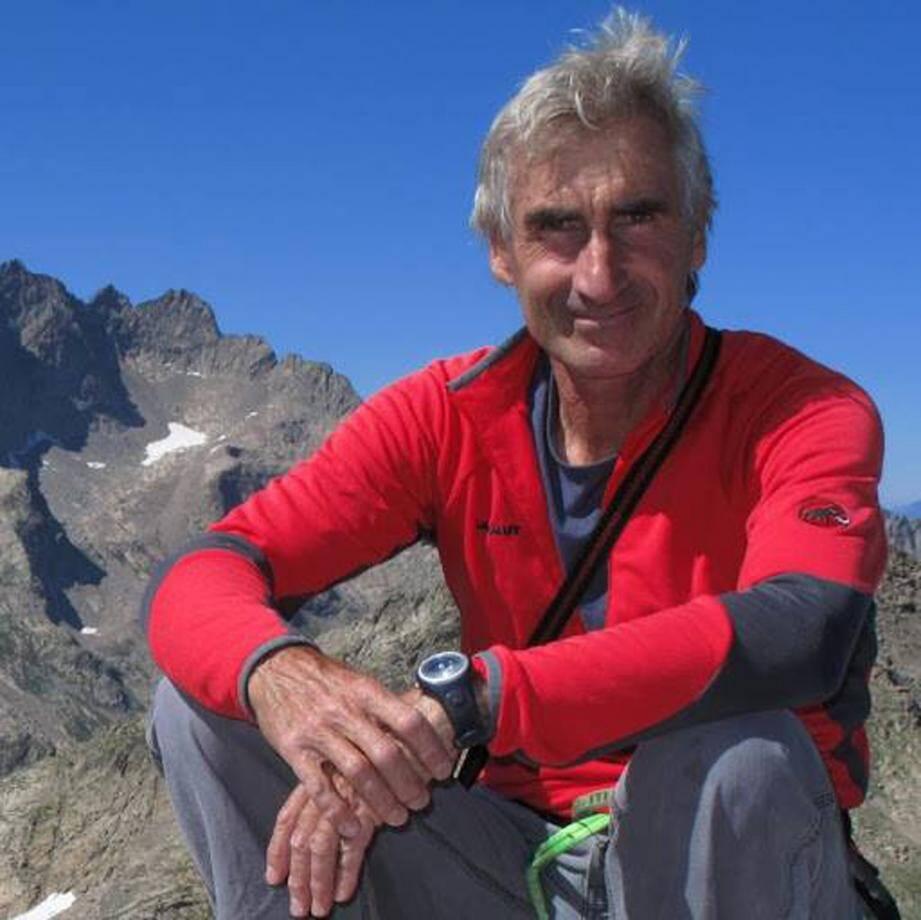 Cinq ans après l'assassinat du guide de haute montagne niçois en Algérie, sa veuve Françoise lui a rendu un hommage public.(DR)
