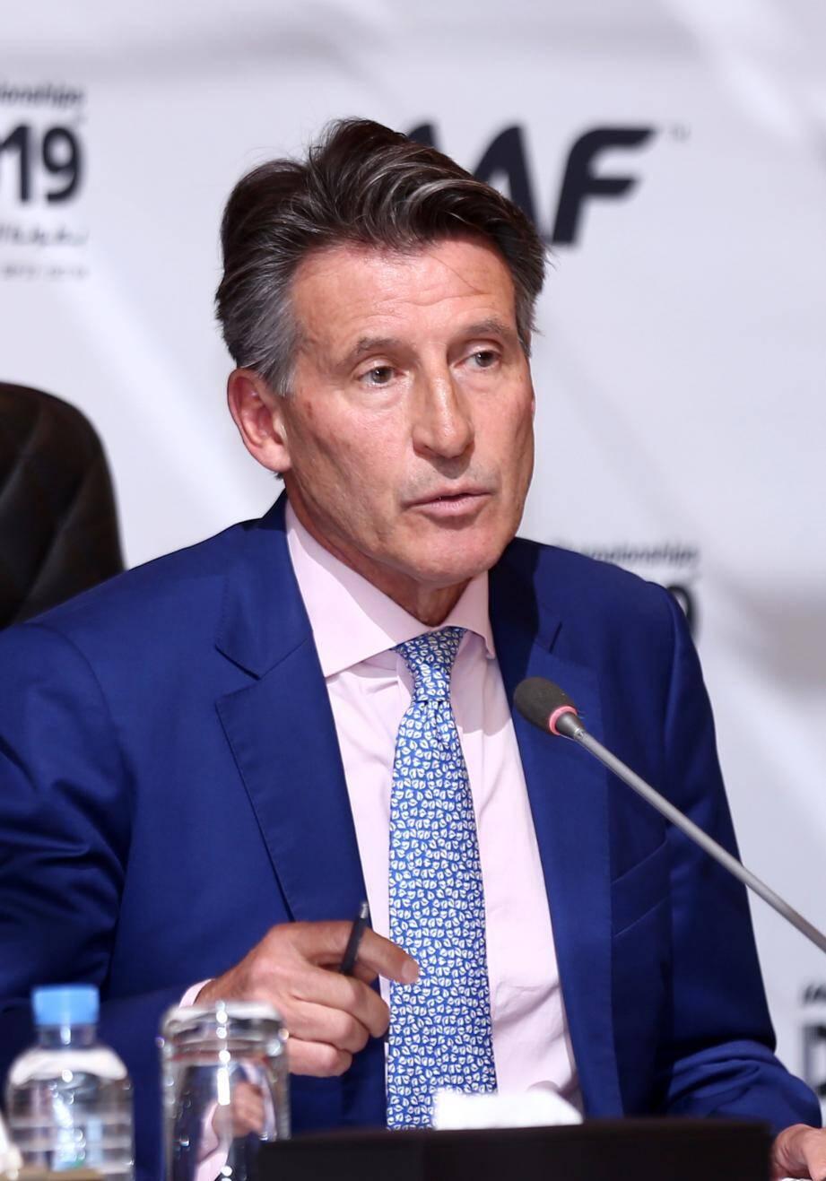Sebastien Coe va être réélu à la tête de l'IAAF pour 4 ans.